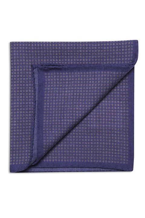 Micro dotted wool Handkerchief