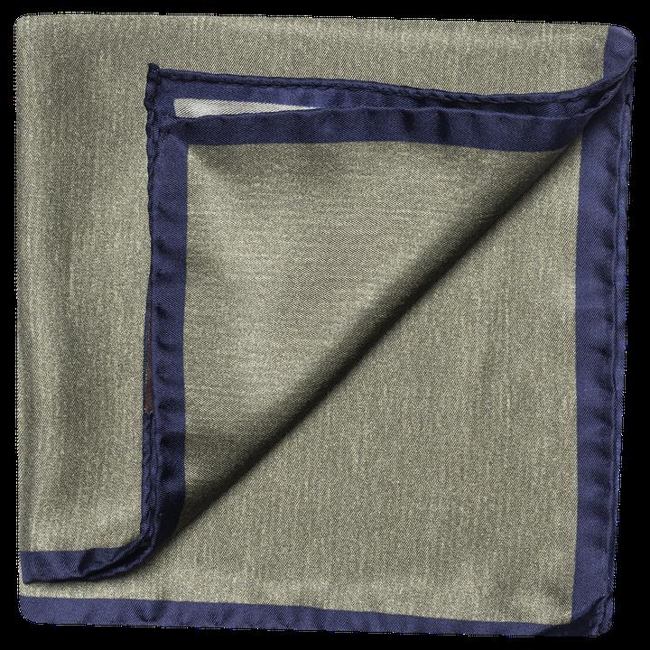 Plain silk handkerchief