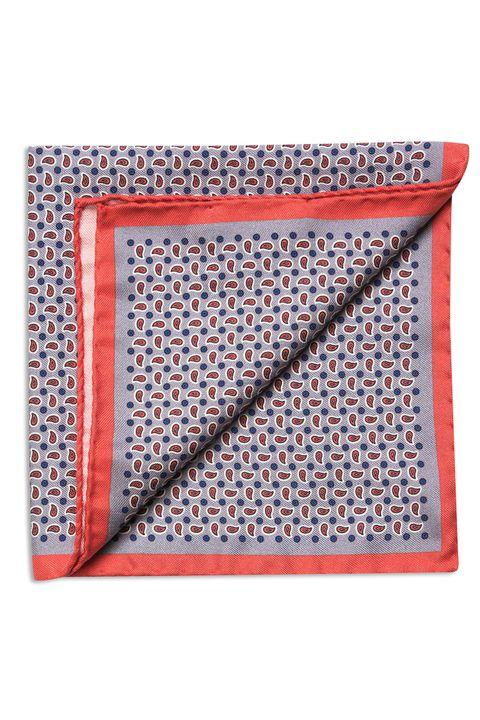 Linen & silk handkerchief