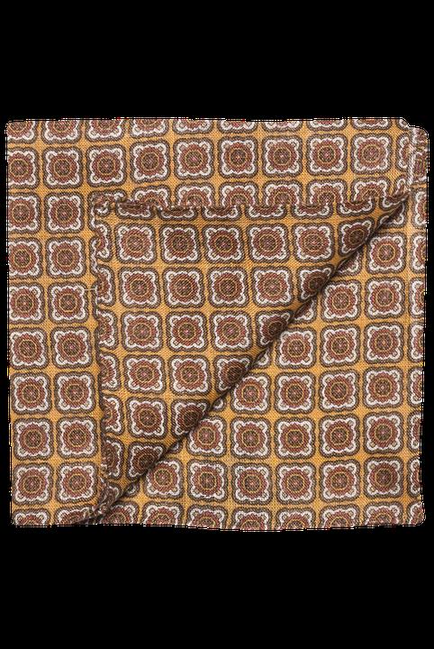 Mönstrad sidennäsduk