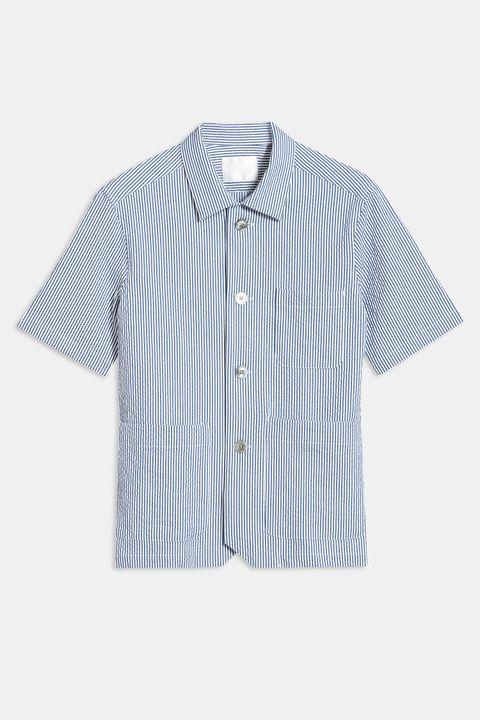 Hanks seersucker shirt
