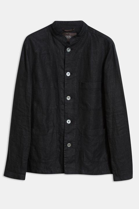 Hannu Linen Shirt Jacket