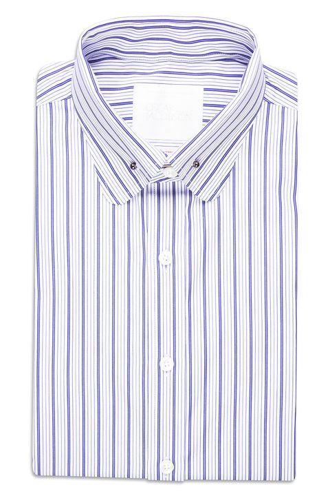 Hans Slim Striped Shirt