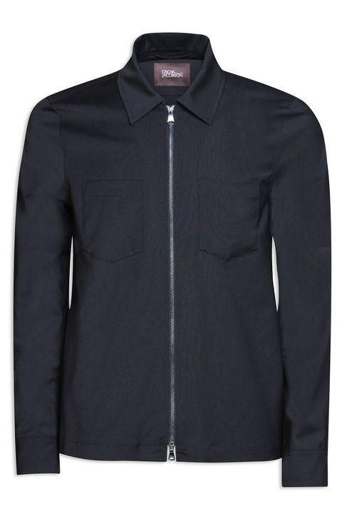 Harding zip overshirt