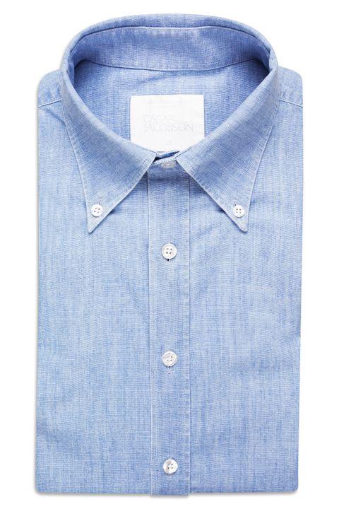 Harry Slim Denim Shirt