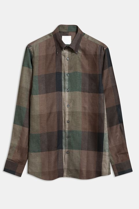Harry checkered linen shirt