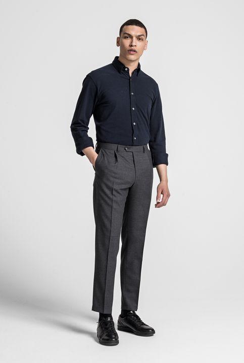 Henning pique knit shirt