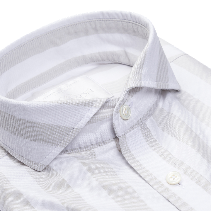 Herman striped oxford shirt