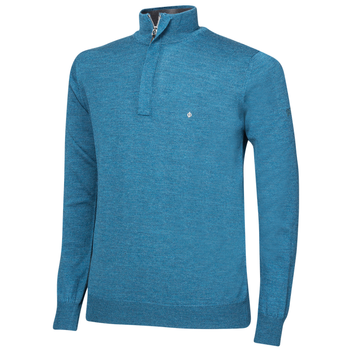 Heron half-zip golf sweater
