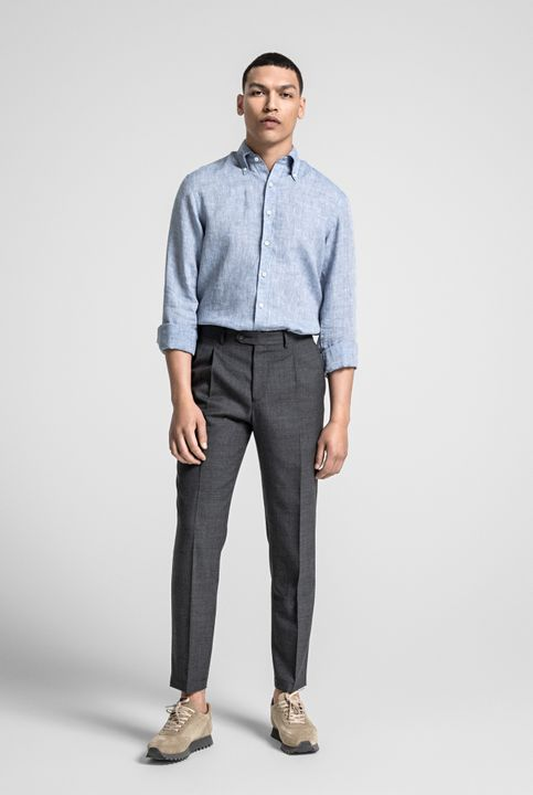 Hubert linen shirt