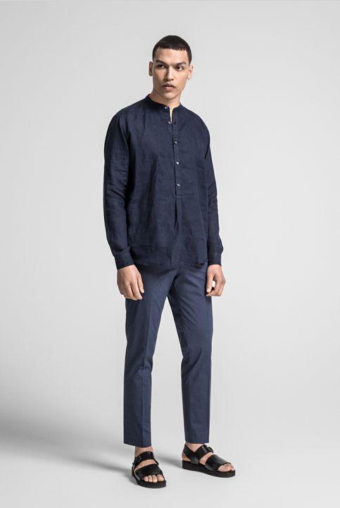 Hurby popover linen shirt