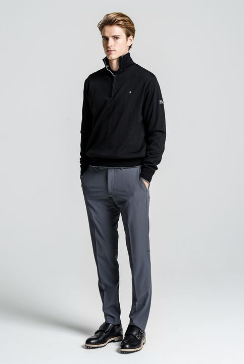 Iwan half-zip golf sweater