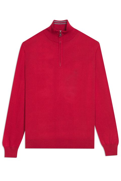 Javier half-zip sweater