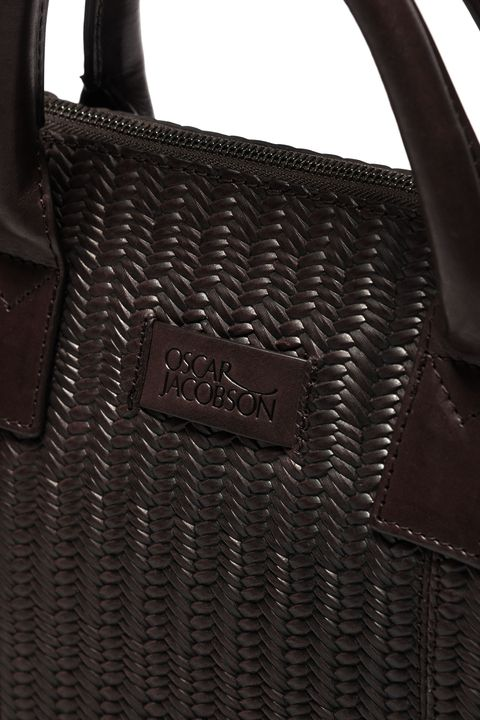 Braided briefcase