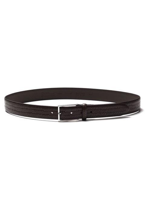 Vidar Texture leather belt 35 mm