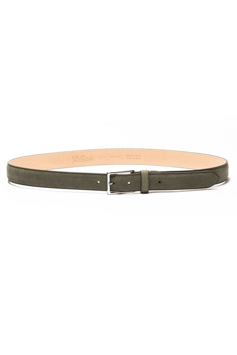 Vilhelm Suede belt 30 mm