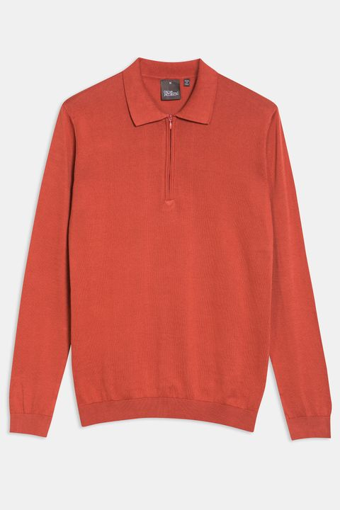 Otto long sleeve poloshirt
