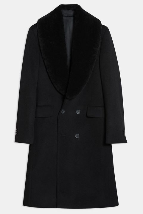 Pekka Fur Collar Coat