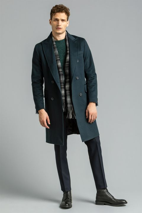 Penley double breasted coat