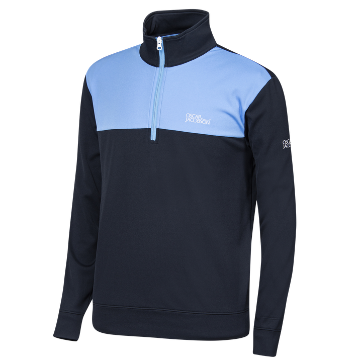 Pock golf sweater half-zip