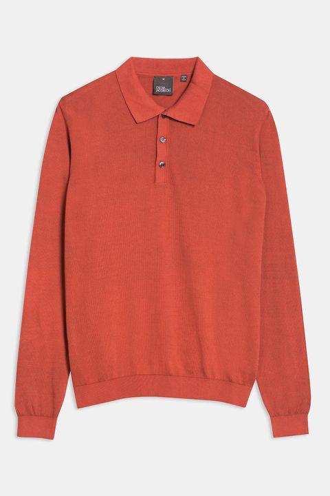 Ruben long sleeve Poloshirt