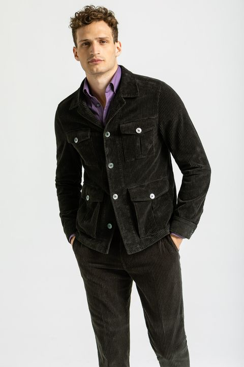 Safari corduroy overshirt