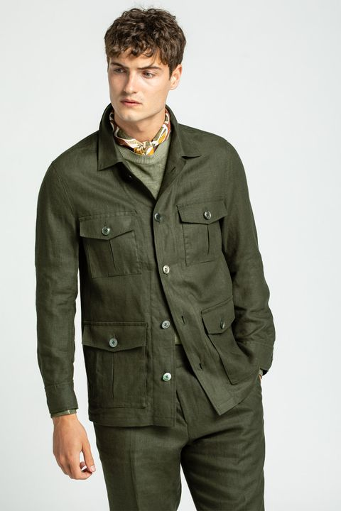 Safari Shirt Jacket