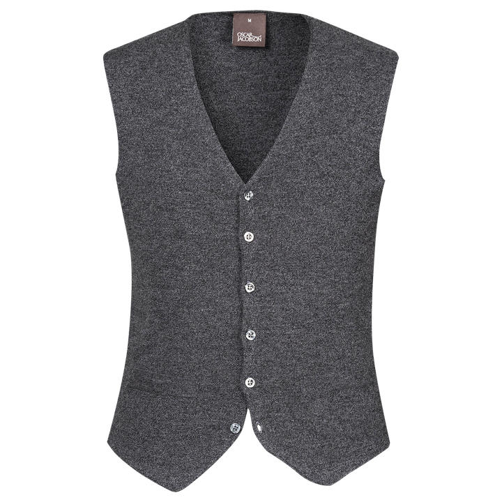 Tailor knitted vest