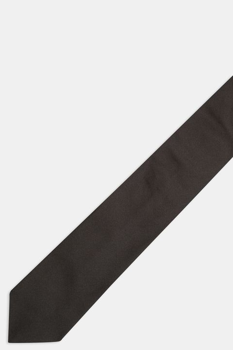 Single colour Silk tie