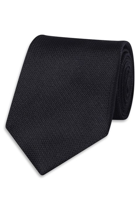 Silk tie with texture