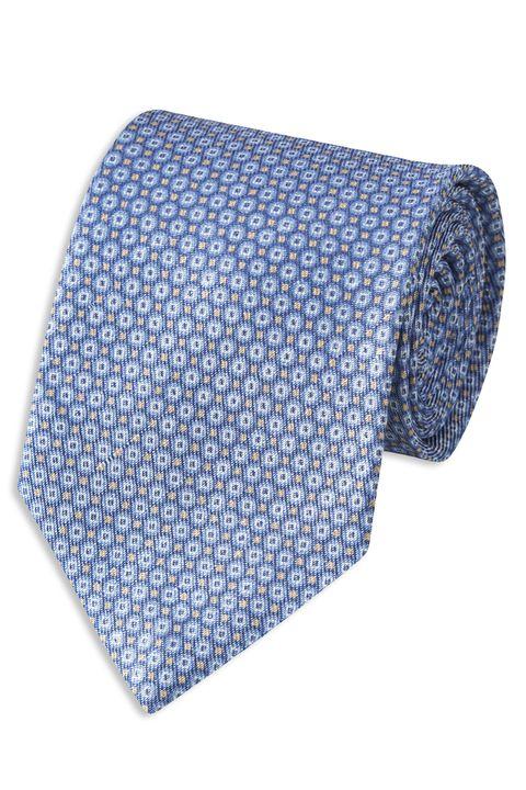 Linen & silk tie