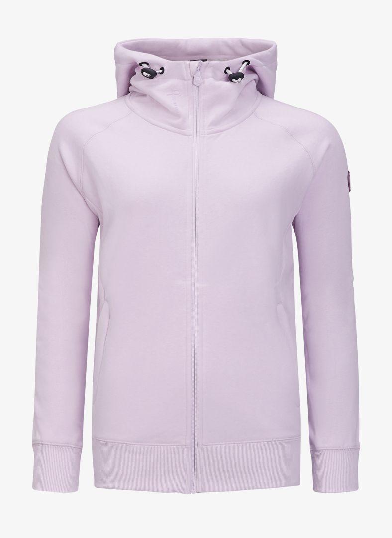 W Lodge zip hoodie
