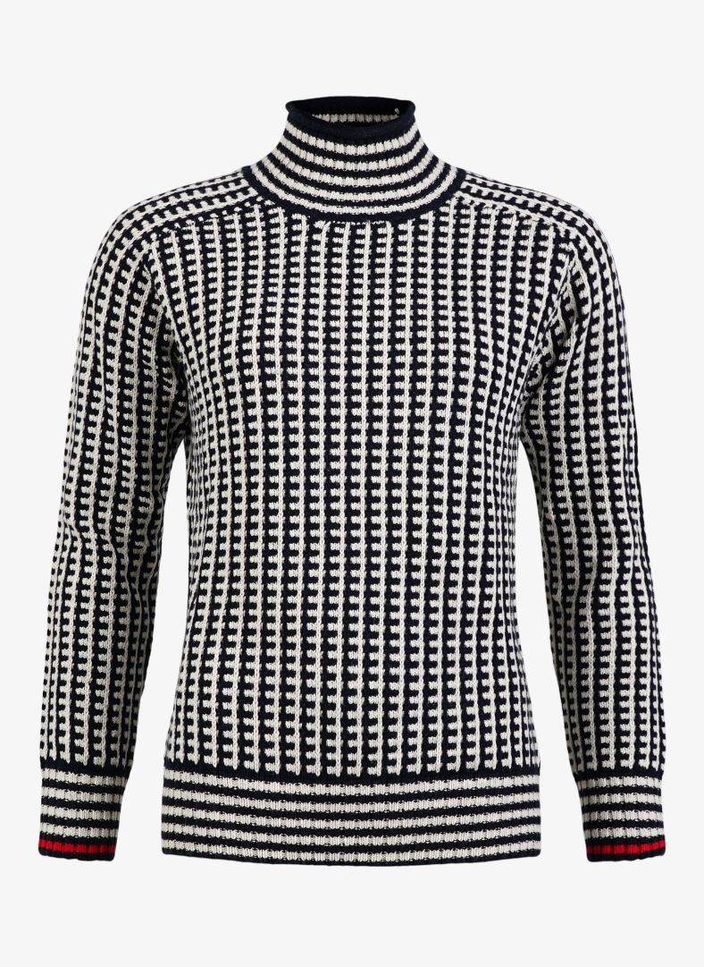 W Roll Neck Pullover