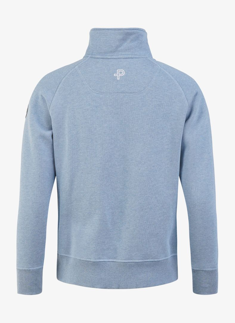 W Bay zip sweater
