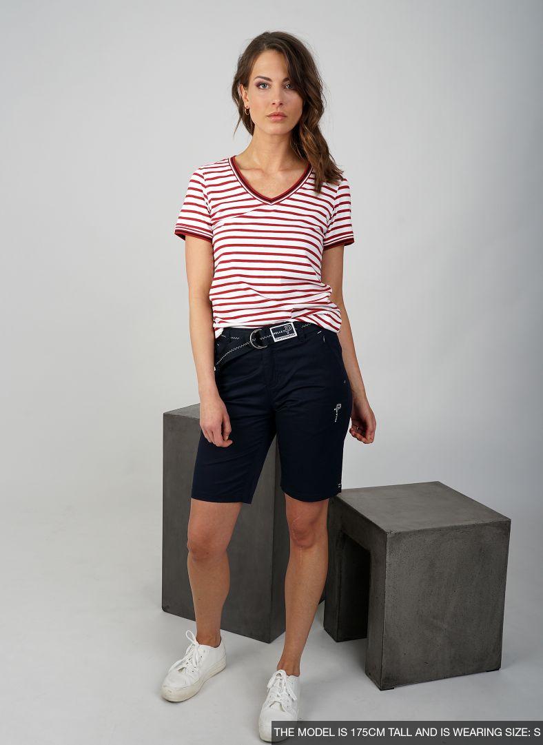 W Classic Stripe Short Sleeve