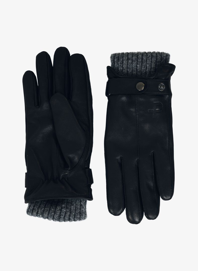 W Leather Gloves