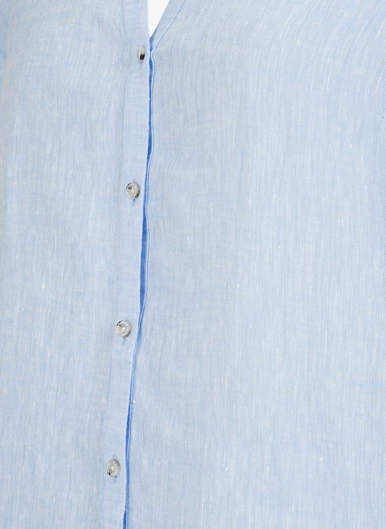 W Linen Blouse