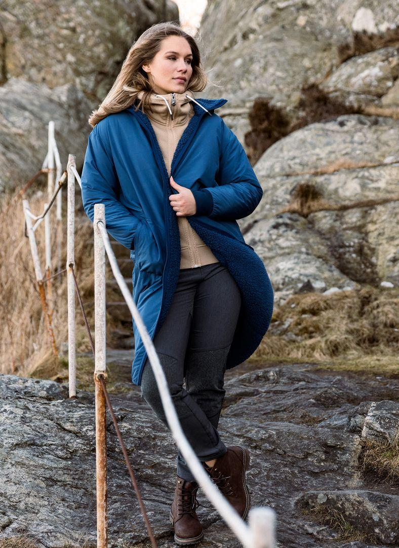 W Sherpa Coat