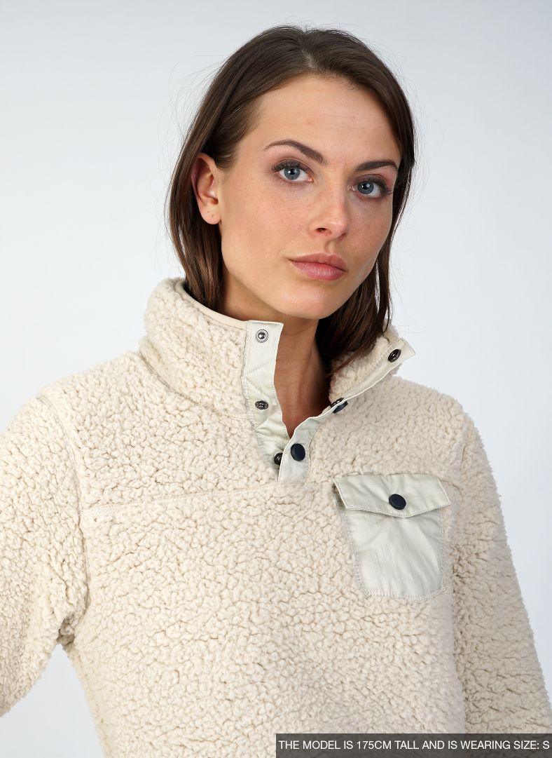 W Sherpa Sweater