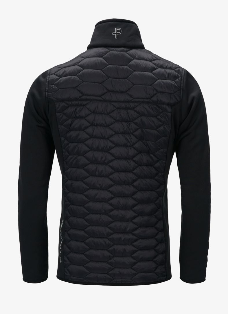 Levo Quilted Zip Midlayer