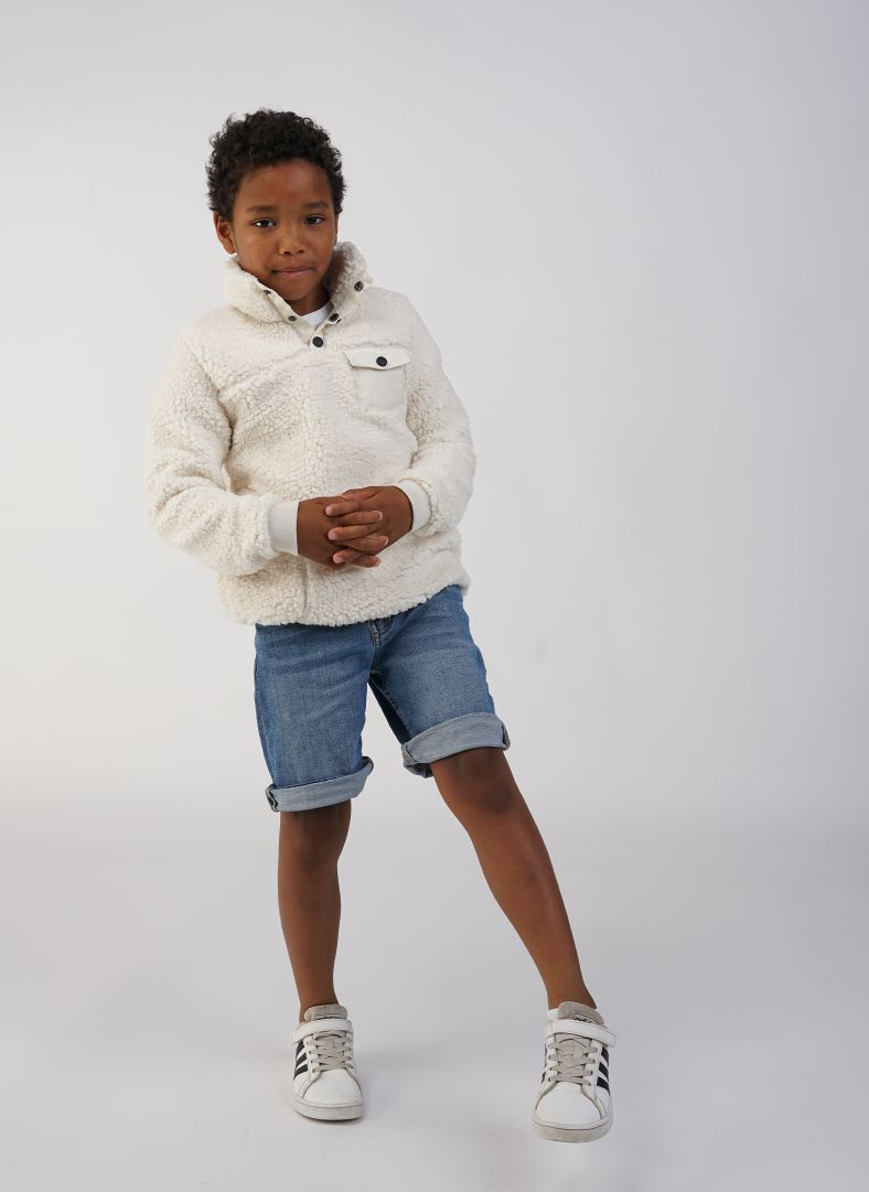 JR Sherpa Sweater