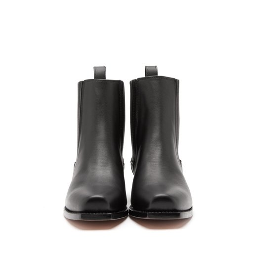Astrid Cow Leather Black