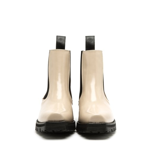 Bo Patent Leather Beige
