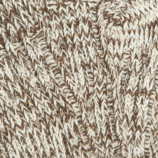 Eilidh Pure Wool-Organic Cotton Natural Cognac