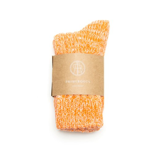 Eilidh Pure Wool-Organic Cotton Orange