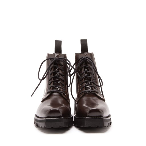 Florence Patent Leather Chocolate