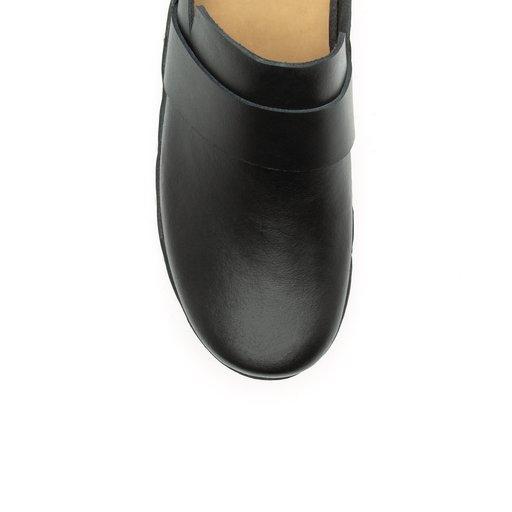 Iris Cow Leather Black