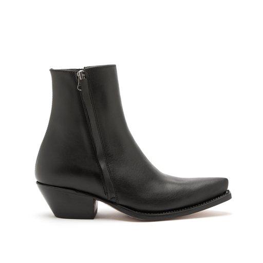 Maja Cow Leather Black