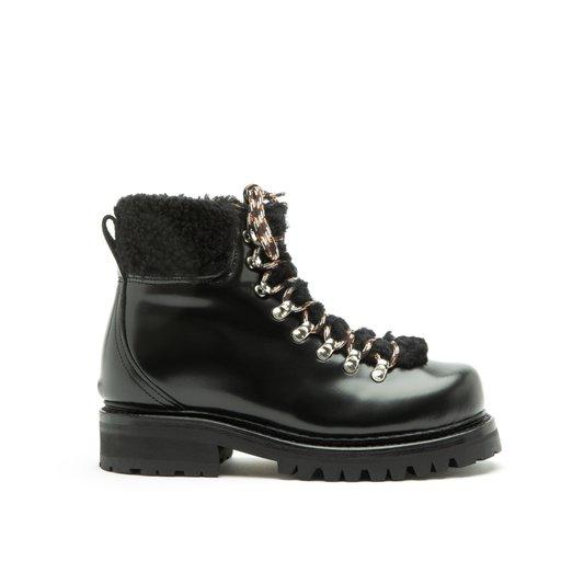 Sanna Patent Leather Black