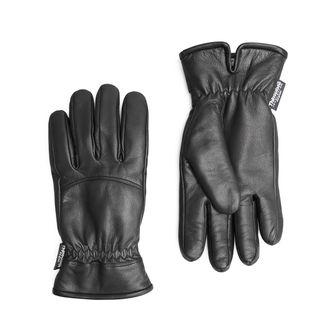 Handskmakaren Foggia fodrade handskar i skinn, herr